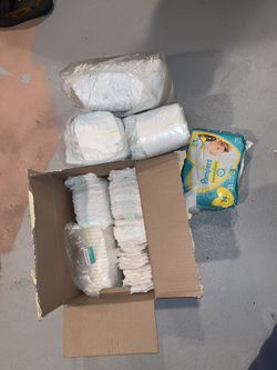 Diapers size Newborn & #1s for Sale in Howell Township,  NJ