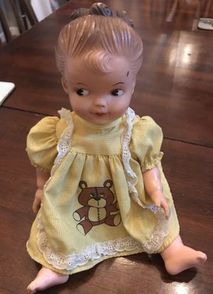 """Cute Antique/Vintage Vinyl/Plastic 12"""" Doll for Sale in Woodinville, WA"""