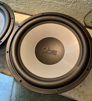 PB power bass speakers 15 inch for Sale in Bell Gardens, CA