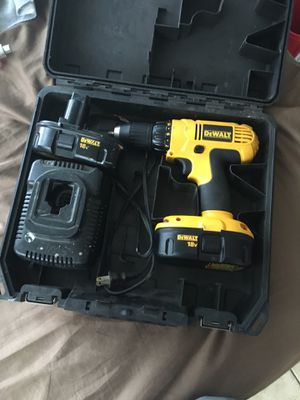 Dewalt 18v good condition drill 50$ for Sale in Port Charlotte, FL