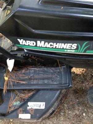Yard machine riding mower for Sale in Zebulon, NC