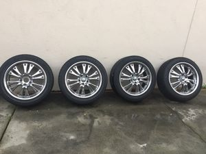 Ford Mustang 18 wheels & Tires 245/45/18 for Sale in La Mirada, CA