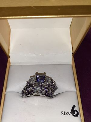 Free costume Amethyst and diamond set for Sale in Virginia Beach, VA
