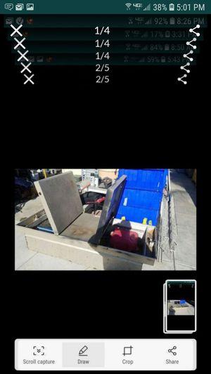 HugeTruck tool box farm storage box 74 x29 needs new locks for Sale in Tracy, CA