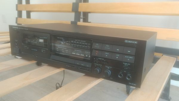 Onkyo tape player tuner made in Japan