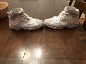 "Jordan 7 Retro ""Pure Platinum"" (Size 11) for Sale in Wake Forest, NC"