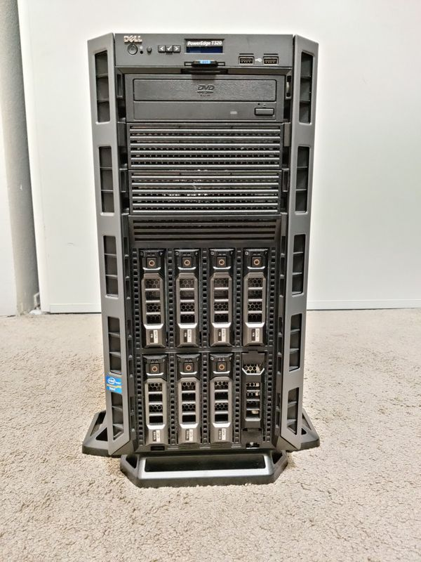 Dell PowerEdge T320,10core hyper-threaded Xeon, 72GB RAM, Fully loaded