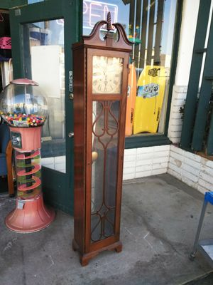 Decorative Wood Grandfather Floor Clock for Sale in Escondido, CA
