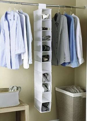 Mainstays Nonwoven 10 Shelf Closet Organizer White 10pc Lot for Sale in Allentown, PA