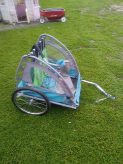Bike trailer in great condition $50 firm for Sale in Fremont,  CA