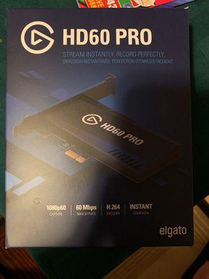 Elgato HD60 PRO for Sale in Monroe Township, NJ
