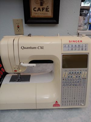 Singer quantum CXL sewing machine for Sale in Olympia, WA
