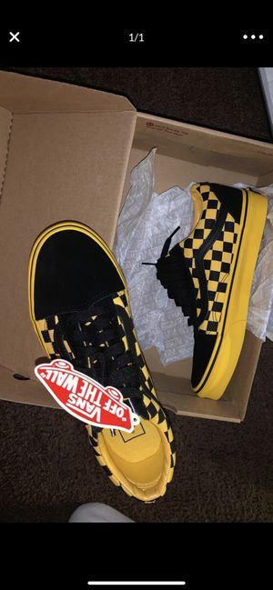 Checkerboard vans for Sale in Greenville, NC