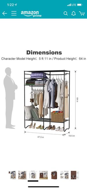 Standing closet/organizer for Sale in Queens, NY