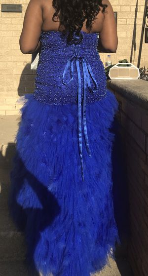 Royal Blue Mermaid Style Prom Dress Size 2XL for Sale in Chicago, IL