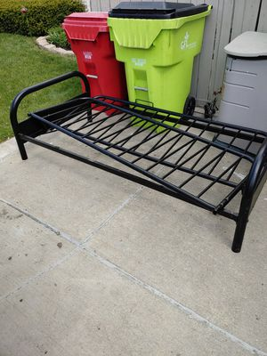 Futon bed frame for Sale in New Baltimore, MI
