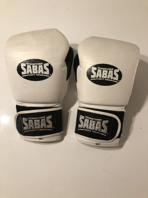 Sabas boxing gloves pro series used 16 oz for Sale in San Diego, CA