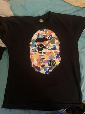 Multi camo bape shirt for Sale in Vallejo, CA