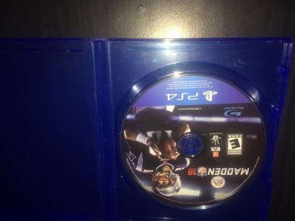 Madden 18 no scratches perfect condition