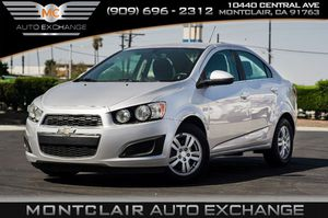 2016 Chevrolet Sonic for Sale in Montclair, CA