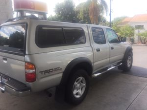 Toyota Tacoma camper shell for Sale in Tustin, CA