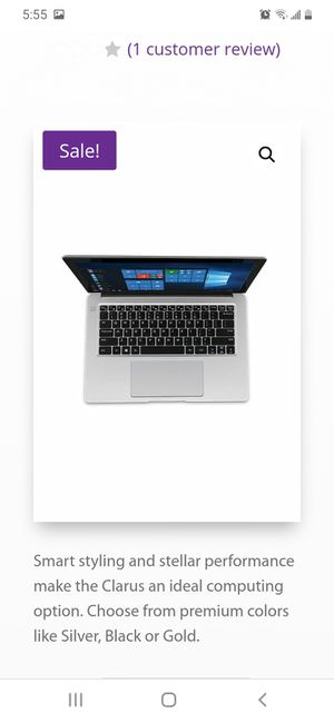 Avita Clarus laptop for Sale in Minneapolis, MN