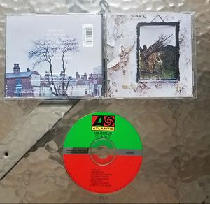 Led Zeppelin - 'IV / Zoso' CD Album - TESTED - No Skips for Sale in Hialeah, FL