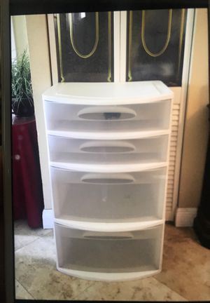 Plastic container with drawers for Sale in Miami, FL
