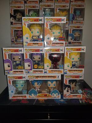 Dragon Ball Z Exclusive Funko Pops for Sale in Davie, FL
