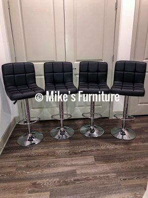 Brand new 4 black bar stools $55 each (Shipping is available) for Sale in Orlando, FL
