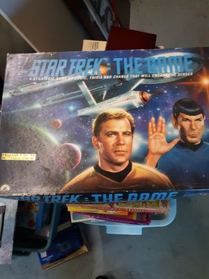Star trek collectors edition board game for Sale in Carver, MA