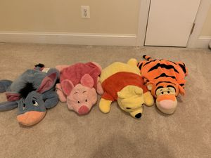 Winnie the Pooh and friends plush toys for Sale in Alexandria, VA