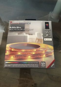LIGHT STRIP! Brand new in box! App WiFi controlled for Sale in Fort Myers,  FL