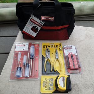 Craftsman Tool Bag + Tools for Sale in Dayton, OR