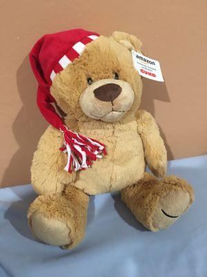 Gund Holiday Santa Teddy Bear Super Plush Soft Brand New Stuffed Animal Limited Edition for Sale in San Jose, CA