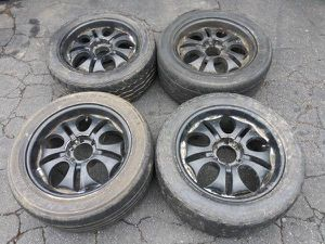 6 lug 20 inch rims and tires. Chevy, Toyota, Nissan, more for Sale in Pico Rivera, CA