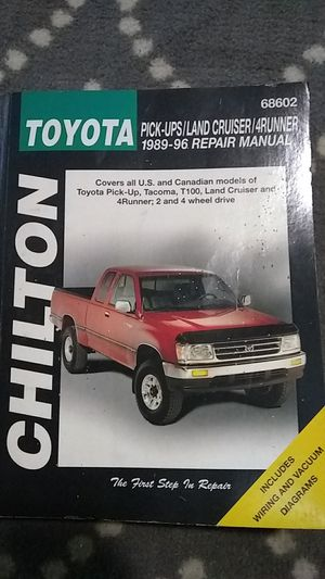 89-96 Chilton Toyota/Land cruiser/4Runner for Sale in Knoxville, TN