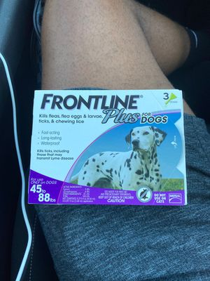 Frontline Plus for Dogs for Sale in Scottsdale, AZ