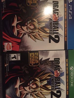 New dragonball xenoverse 2 for PS4 or Xbox for Sale in Denver, CO