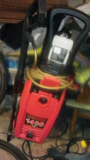 Power Washer clean force 1400 psi for Sale in Whittier, CA