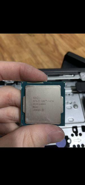 Intel core i7 4770 for Sale in Jacksonville, FL