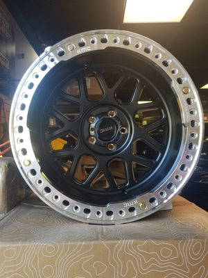 20x10 KMC beadlock 5x127 wheels for Jeep Wrangler for Sale in Joliet, IL