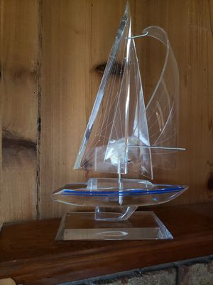 Acrylic Art Model Sailboat for Sale in Springfield, OR