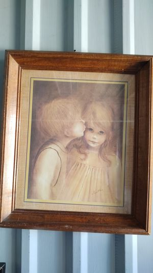 A little Kiss by Margaret Kane for Sale in Midland, TX