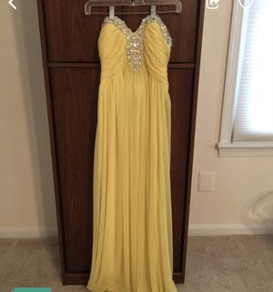 Yellow dress for Sale in Gaithersburg, MD