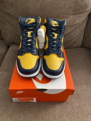 Nike Dunk Hi Michigan for Sale in Queens, NY