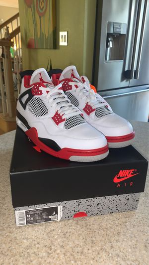 Jordan 4 Retro Fire Red Size 14 Ds for Sale in Long Beach, CA