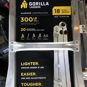 Gorilla ladder 18 feet for Sale in Tacoma, WA