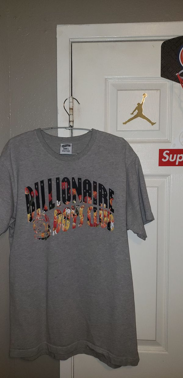 Billionaire boys club floral print