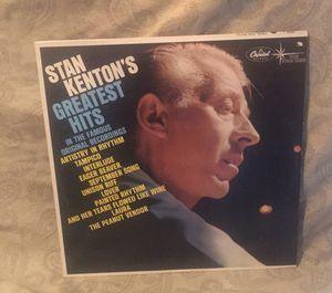 Stan Kenton's Greatest Hits Vinyl LP Album for Sale in Barrington, IL